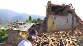尼泊尔地震 股票视频
