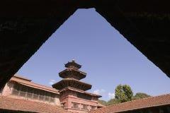 尼泊尔宫殿patan皇家 免版税库存图片