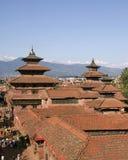 尼泊尔宫殿patan皇家 库存图片