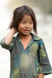 尼泊尔小女孩 免版税库存图片