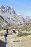 尼泊尔搬运工 免版税图库摄影