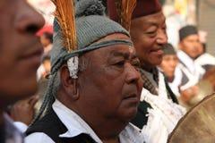 尼泊尔新年度 图库摄影
