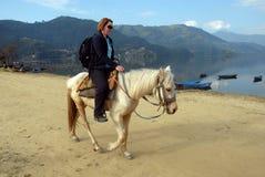 尼泊尔旅行 库存图片