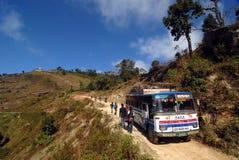 尼泊尔旅行 库存照片