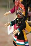 尼泊尔木偶 库存照片