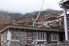 尼泊尔村庄 库存照片