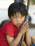 尼泊尔男孩-加德满都-尼泊尔 免版税库存照片