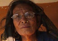 尼泊尔的人们 库存照片