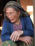 尼泊尔的人们 免版税库存图片