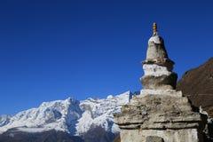 从尼泊尔的Boudhanath stupa 库存图片