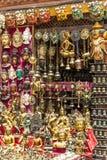 尼泊尔礼品店 库存照片