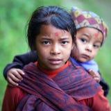 尼泊尔语的子项 免版税库存照片