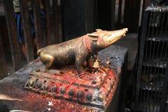尼泊尔雕塑 库存照片