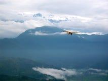 尼泊尔飞机 图库摄影