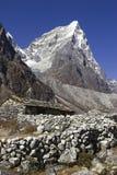 尼泊尔pheriche 库存照片