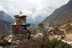 尼泊尔stupa 免版税库存图片