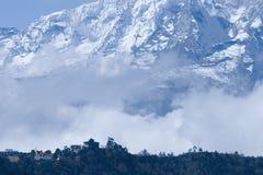 尼泊尔tangboche 免版税库存照片