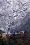 尼泊尔tangboche 免版税库存图片