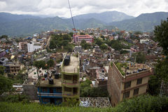 尼泊尔Tansen镇 免版税库存照片