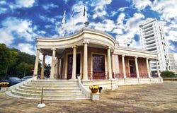 尼科西亚塞浦路斯城镇厅  库存图片