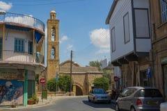"""尼科西亚,塞浦路斯†""""2015年6月22日:古老教会在尼科西亚, Cyp 库存图片"""