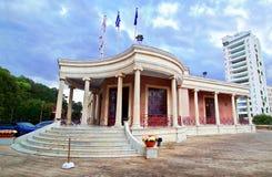 尼科西亚, Lefkosia塞浦路斯城镇厅  免版税库存照片