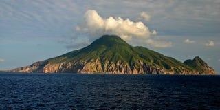尼维斯岛 免版税库存照片