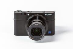 索尼网络射击的DSC-RX100 III, 21 megapixels 图库摄影