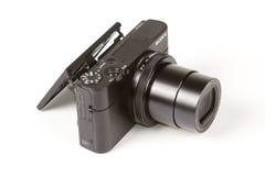 索尼网络射击的DSC-RX100 III, 21 megapixels 库存图片