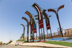 尼罗国家公园在阿斯旺,埃及 库存图片
