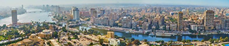 尼罗河的,开罗,埃及城市 库存图片