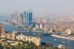 尼罗河-埃及 库存照片