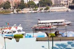 尼罗河-开罗看法  免版税库存图片