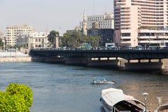 尼罗河-开罗看法  库存图片