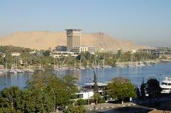 尼罗河-阿斯旺-埃及 免版税库存图片