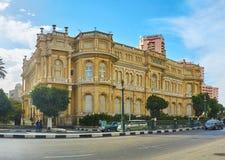 尼罗的,开罗,埃及宫殿 免版税库存图片