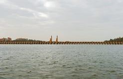 尼罗省在开罗地区,埃及 免版税图库摄影