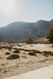 尼西罗斯岛海岛火山 免版税库存照片