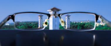 尼赫鲁博物馆塔透镜 免版税库存照片