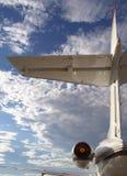 尾气喷气机 库存照片