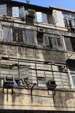 局促公寓在Shamshuipo 免版税库存图片