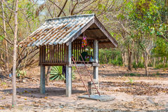 局部精神房子在泰国 图库摄影