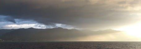 层云,意大利 免版税库存图片