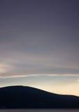 层云,蒂瓦特, Montenero 免版税库存照片