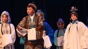 """居丧北京Opera""""杨Family†的妇女将军痛苦  股票视频"""