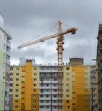 居住区的建筑 免版税库存图片
