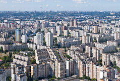 居住区 基辅,乌克兰 Kyiv,乌克兰 免版税库存照片