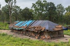 居住在Dubare大象阵营, Coorg印度 免版税图库摄影