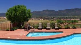 居住在Sedona亚利桑那平原的公寓房  股票录像