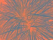 居住的珊瑚背景 您的设计的居住的珊瑚背景 年的时髦颜色概念2019年 库存例证
